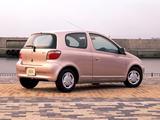 Toyota Vitz 3-door 1999–2001 photos