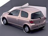 Toyota Vitz 3-door 1999–2001 wallpapers