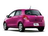 Toyota Vitz 2005–07 photos