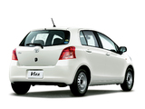 Toyota Vitz 2005–07 wallpapers