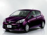 Toyota Vitz 1.3 F Ciel (NCP131) 2012–14 wallpapers