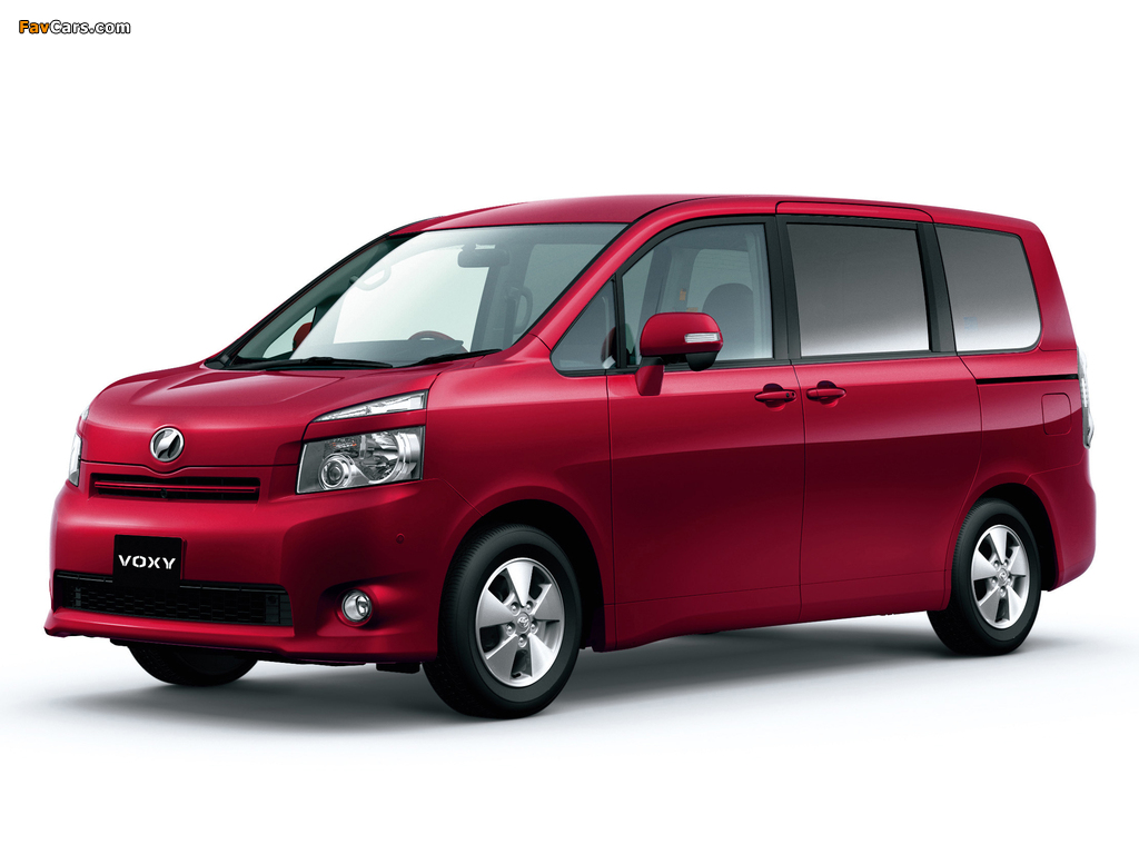 Pictures of Toyota Voxy 2007–10 (1024 x 768)