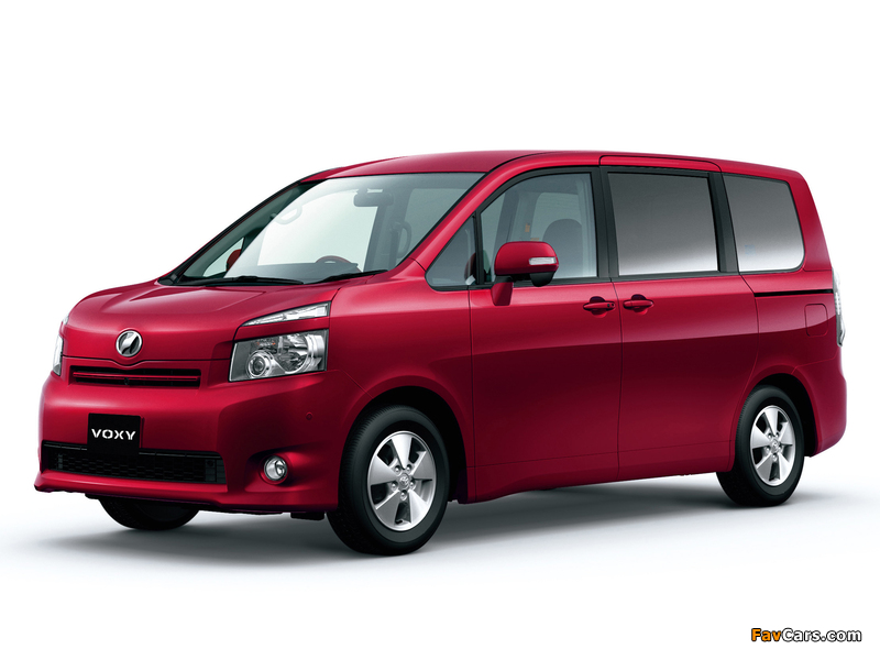 Pictures of Toyota Voxy 2007–10 (800 x 600)