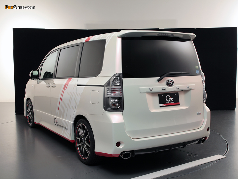 Toyota Voxy G Sports Concept 2010 wallpapers (800 x 600)