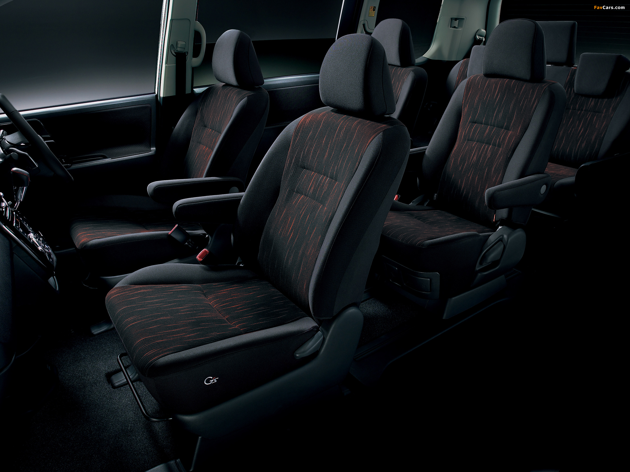 Toyota Voxy ZS Gs Version EDGE 2010 wallpapers (2048 x 1536)