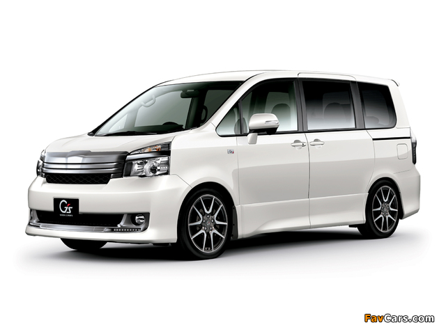 Toyota Voxy ZS Gs Version EDGE 2010 wallpapers (640 x 480)