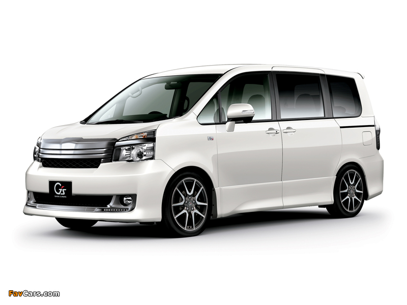 Toyota Voxy ZS Gs Version EDGE 2010 wallpapers (800 x 600)