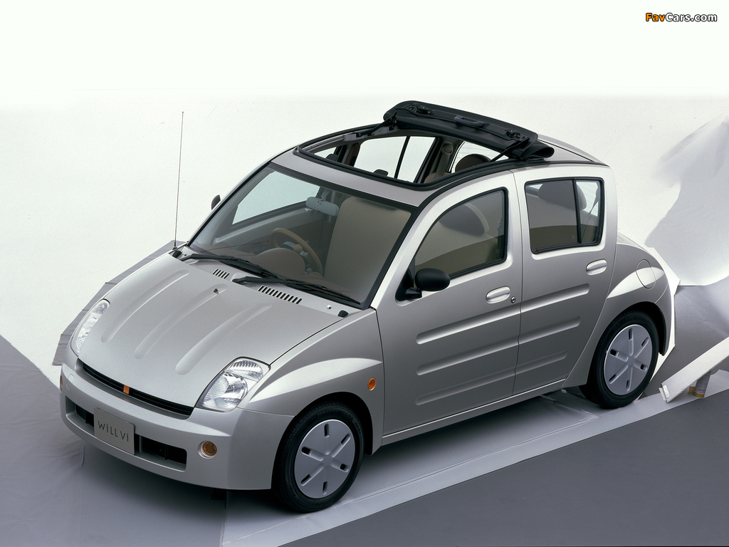 Toyota WiLL Vi (NCP19) 2000–01 pictures (1024 x 768)