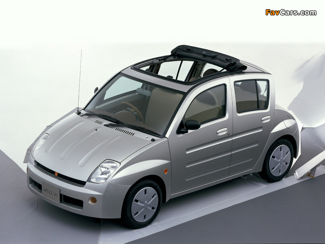 Toyota WiLL Vi (NCP19) 2000–01 pictures (640 x 480)