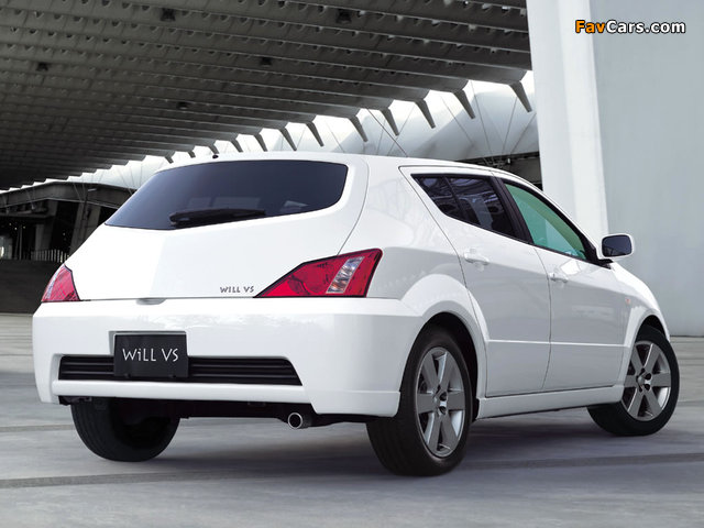 Pictures of Toyota WiLL VS 2001–04 (640 x 480)