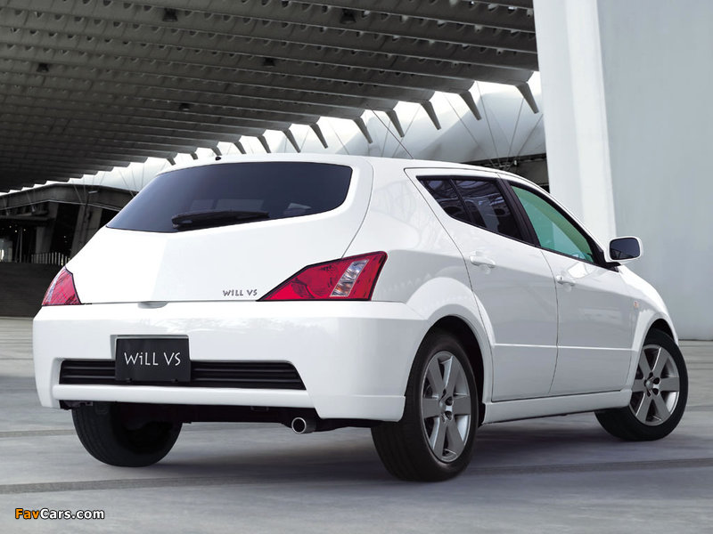 Pictures of Toyota WiLL VS 2001–04 (800 x 600)