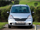Images of Toyota Yaris Verso 1999–2003