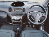 Images of Toyota Yaris Verso UK-spec 2003–06