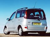 Photos of Toyota Yaris Verso UK-spec 2003–06
