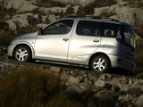 Photos of Toyota Yaris Verso 2003–06