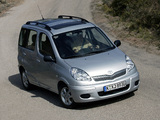 Pictures of Toyota Yaris Verso 2003–06