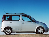 Pictures of Toyota Yaris Verso UK-spec 2003–06