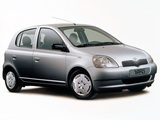 Images of Toyota Yaris 5-door 1999–2003