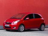 Images of Toyota Yaris SR UK-spec 2010–11