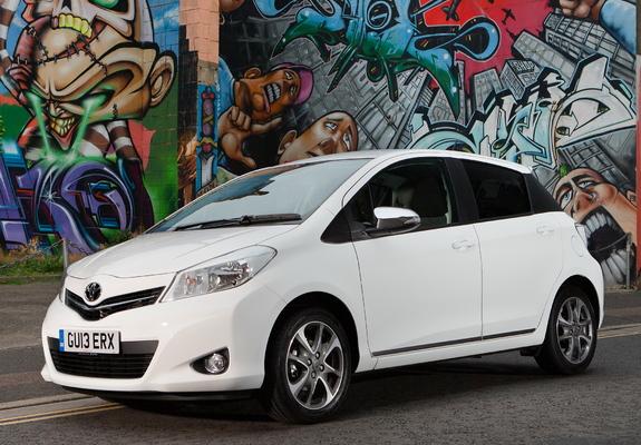 of Toyota Yaris Trend 5door UKspec 2013