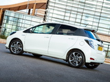 Images of Toyota Yaris Hybrid Trend UK-spec 2013