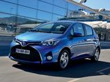 Images of Toyota Yaris Hybrid 2014