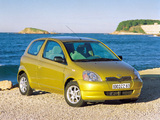 Photos of Toyota Yaris 3-door 1999–2003