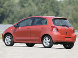 Photos of Toyota Yaris RS 5-door 2008–09