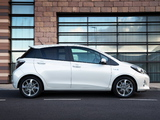 Photos of Toyota Yaris Hybrid Trend UK-spec 2013