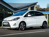 Pictures of Toyota Yaris Hybrid Trend UK-spec 2013