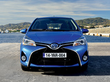 Pictures of Toyota Yaris Hybrid 2014