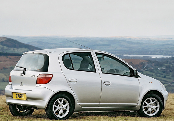 toyota yaris 5 door uk spec 1999 2003 images. Black Bedroom Furniture Sets. Home Design Ideas