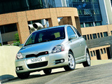 Toyota Yaris T-Sport 2001–03 images