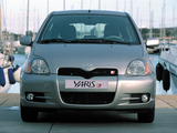 Toyota Yaris T-Sport 2001–03 pictures