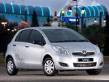 Toyota Yaris Zen 2010–11 photos