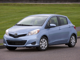 Toyota Yaris LE 5-door US-spec 2011 pictures