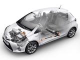 Toyota Yaris Hybrid 2012 images