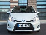 Toyota Yaris Hybrid Trend UK-spec 2013 images