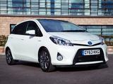 Toyota Yaris Hybrid Trend UK-spec 2013 photos