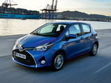 Toyota Yaris Hybrid 2014 pictures