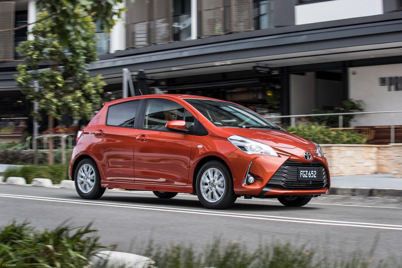 Toyota Yaris Facelift (2017): Fahrbericht - Bilder ...