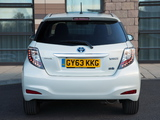 Toyota Yaris Hybrid Trend UK-spec 2013 wallpapers