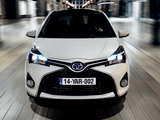 Toyota Yaris Hybrid 2014 wallpapers