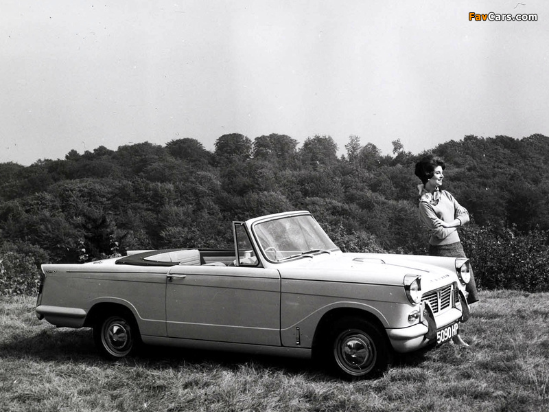 Pictures of Triumph Herald 1200 Convertible 1961–67 (800 x 600)