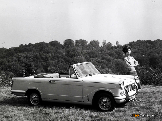 Pictures of Triumph Herald 1200 Convertible 1961–67 (640 x 480)