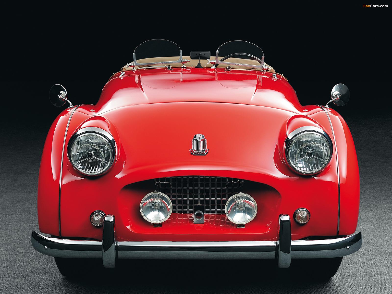 Images of Triumph TR3 1955–57 (1600 x 1200)