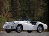 Photos of Triumph TR3A 1957–62