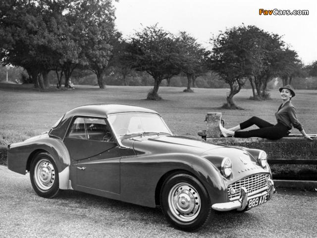 Triumph TR3A 1957–62 images (640 x 480)
