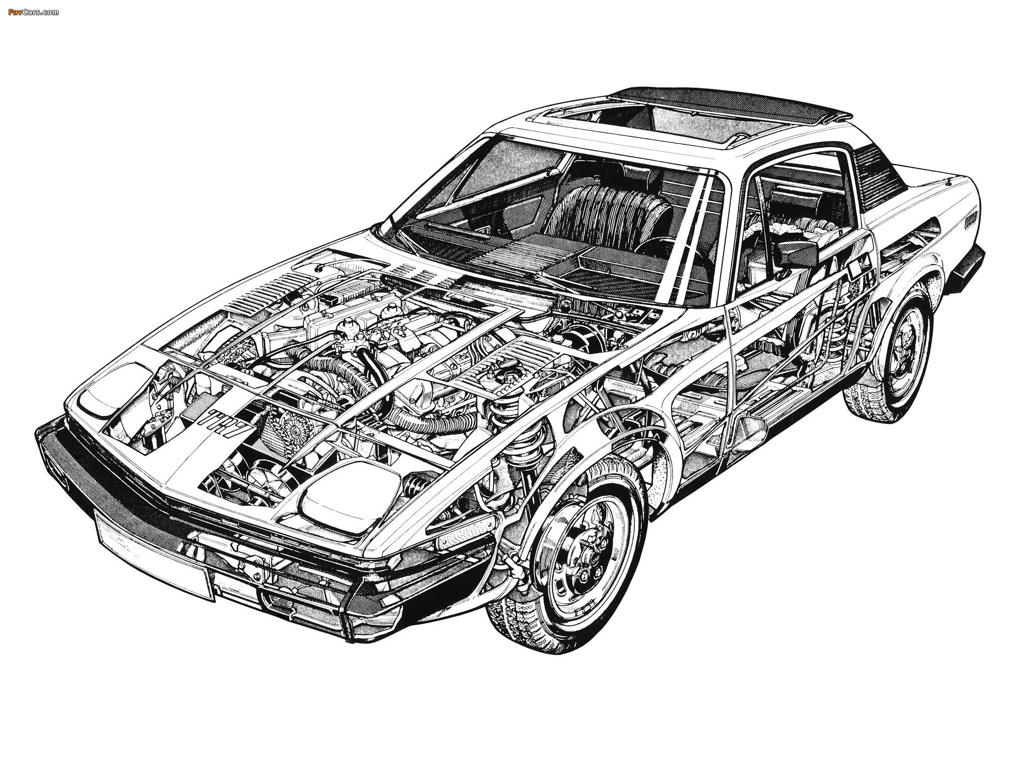 Images of Triumph TR7 1974–81 (2048 x 1536)