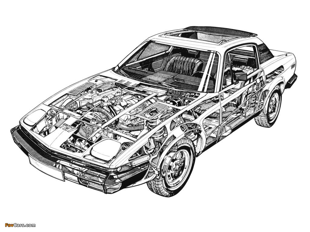 Images of Triumph TR7 1974–81 (1024 x 768)